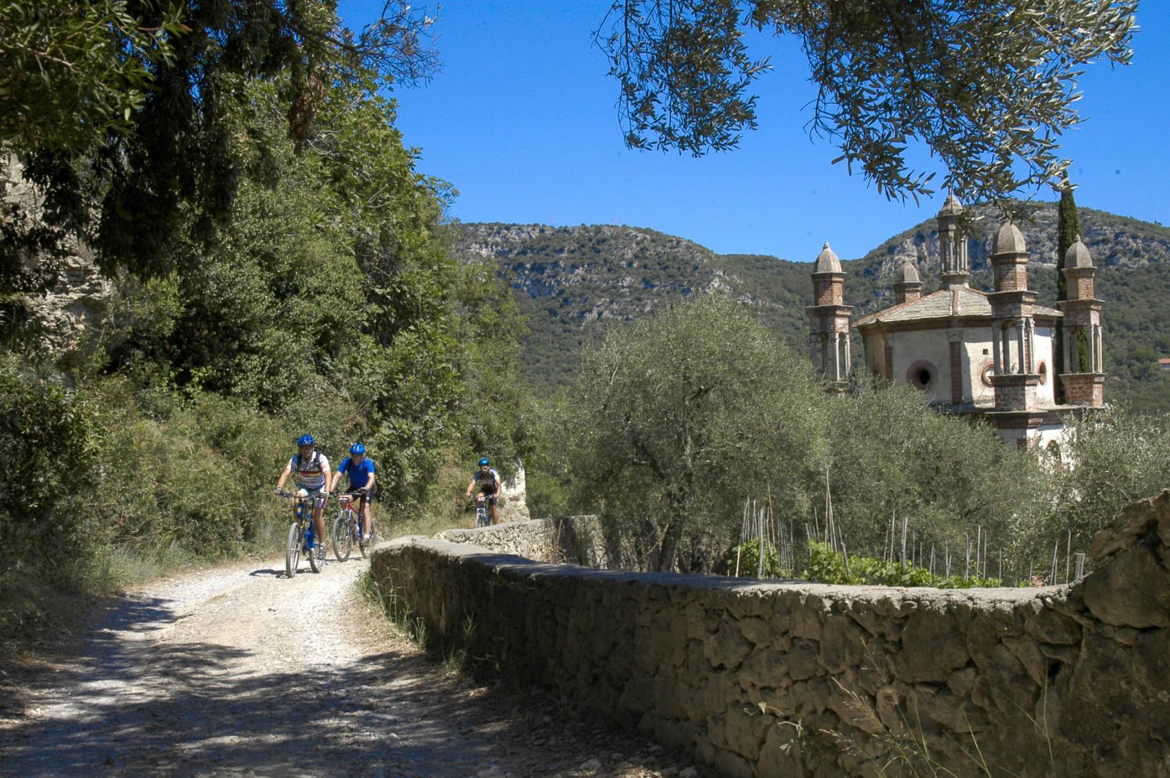 E-bike Ligurie