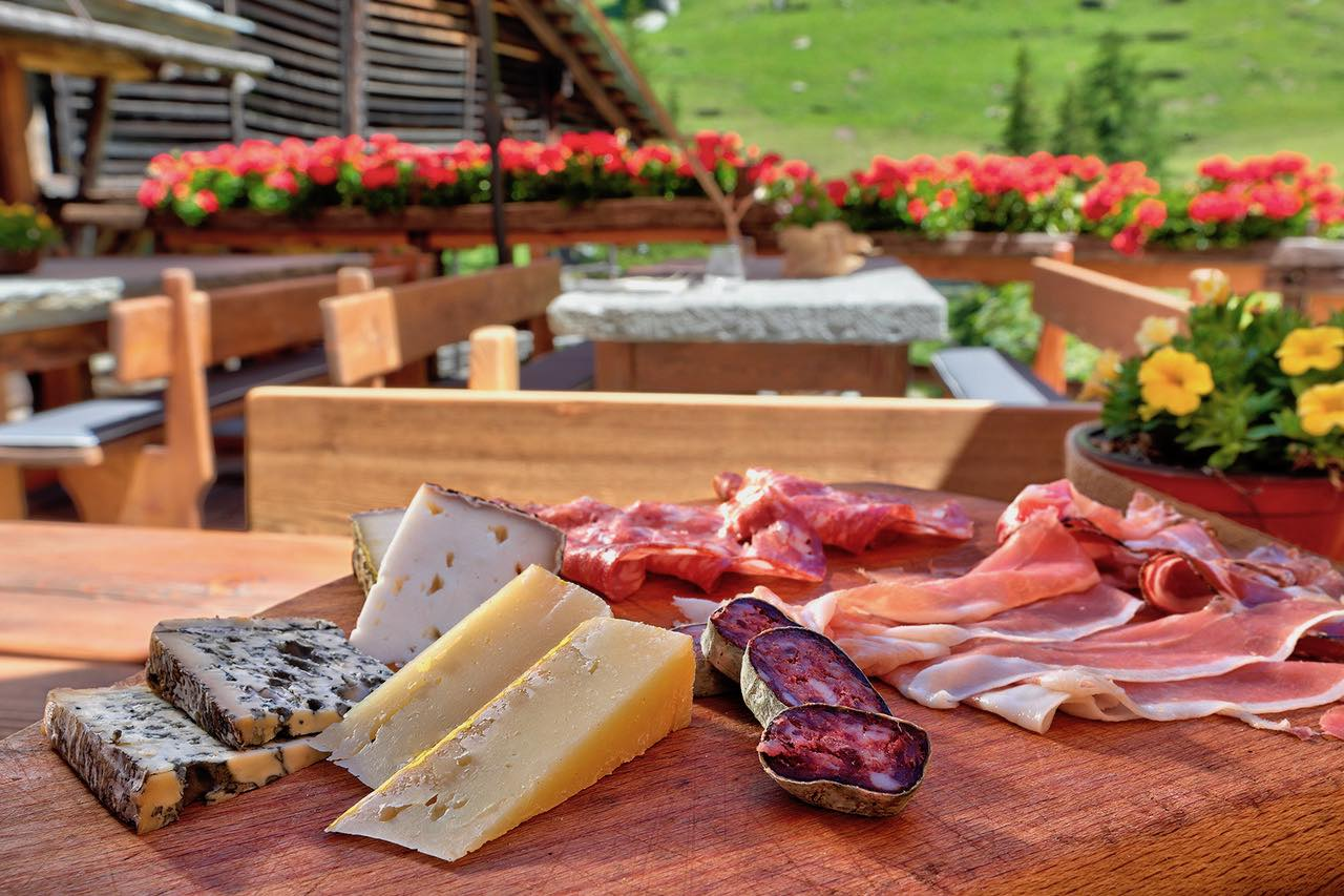 Fromage et charcuterie Italie