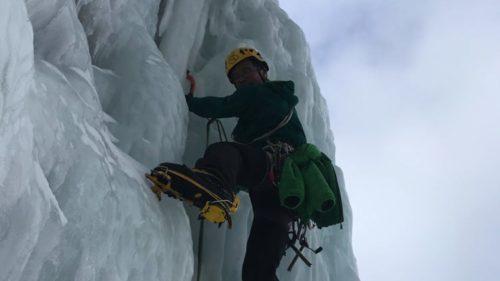 Cascade de glace à Cogne, Gran Paradiso