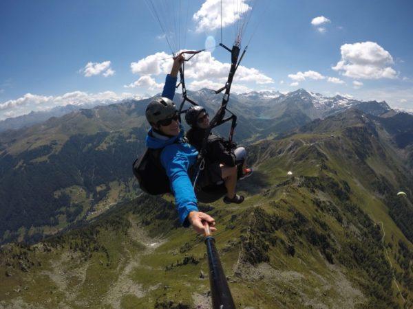 Parapente Valais, Suisse