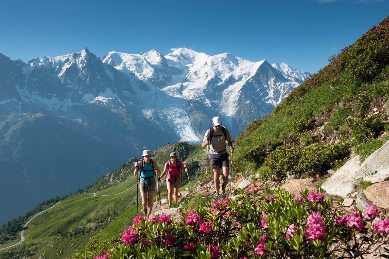 Wandern in Chamonix, Haute-Savoie