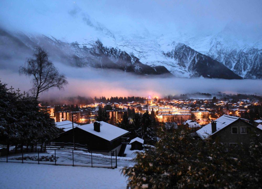 Chalet de luxe à Chamonix - vue sur les Alpes