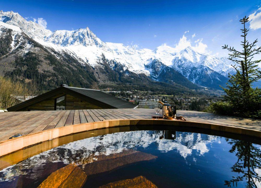 Jacuzzi à Chamonix