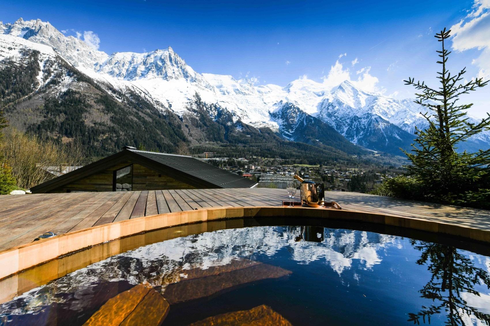 Whirlpool in Chamonix