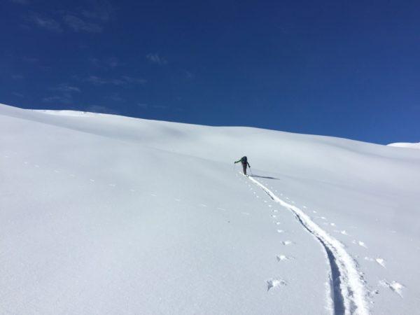 Raid à ski dans le Grand-Paradis