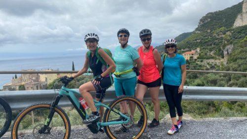 e-bike à Finale Ligure - VTT Femmes - Women only
