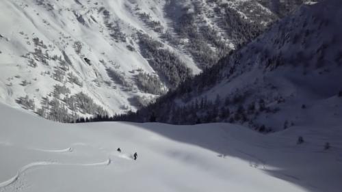 Ski rando Grand-St-Bernard, Italie