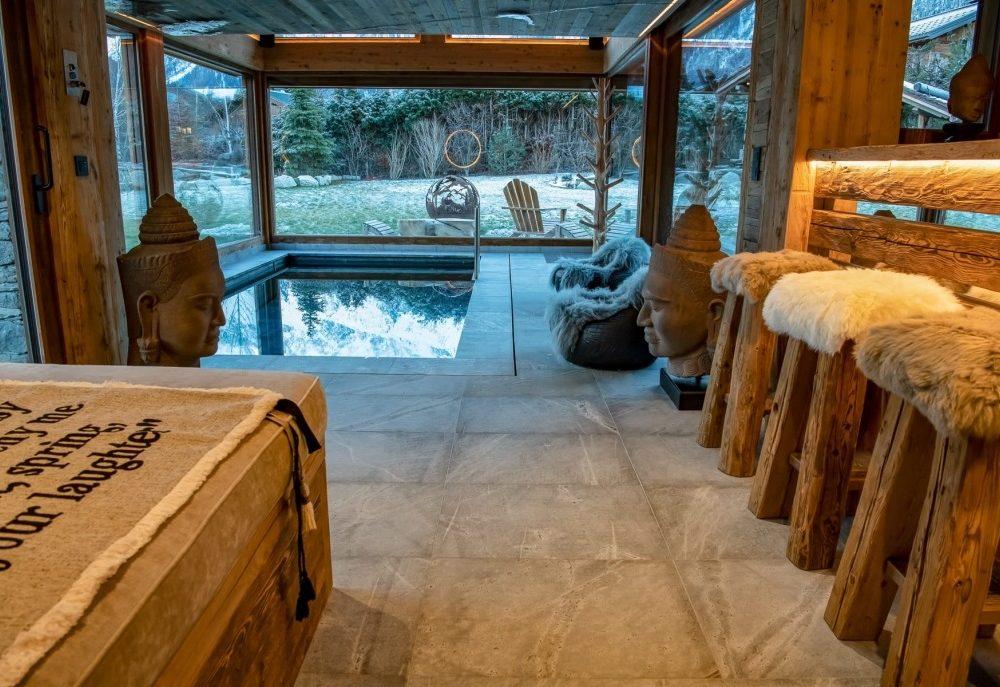 Chalet à Chamonix avec piscine