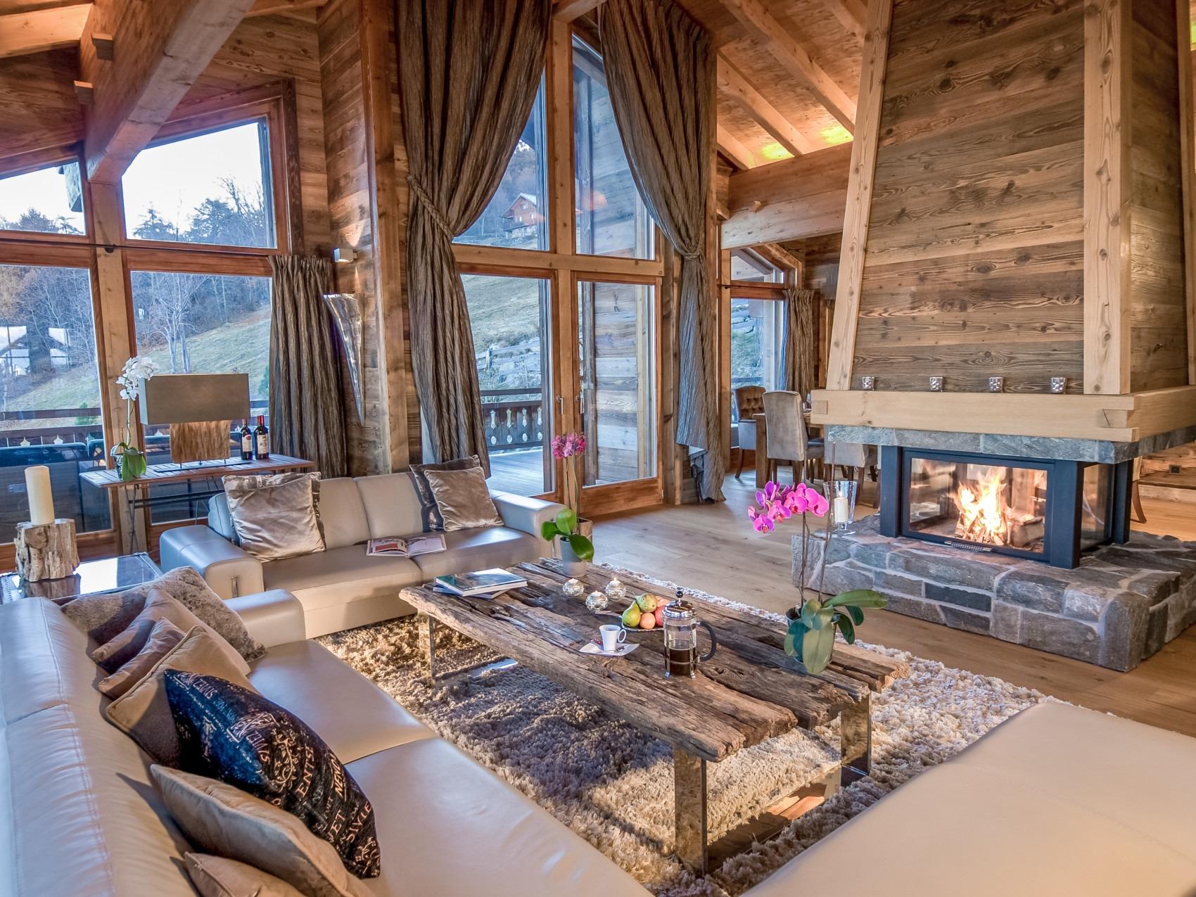 Luxury chalet in Nendaz, 4 Vallées, Switzerland