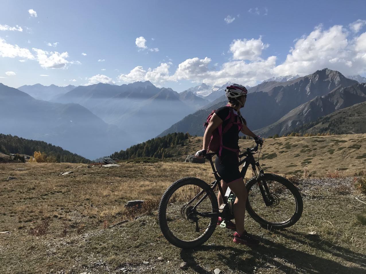 Mountainbiken in den Alpen, Sporturlaub