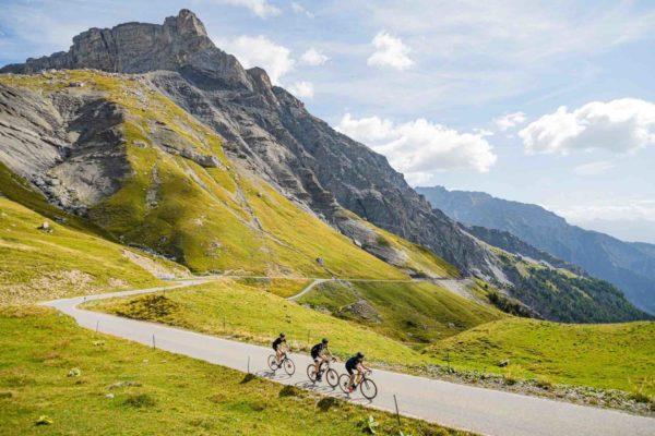 Vélo de route en Valais