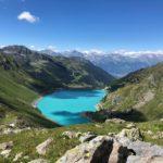 Traversée du Valais - lac de Cleuson