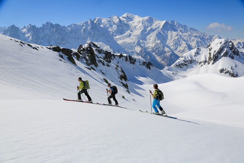 Stage ski-randonnée & alpinisme à Chamonix