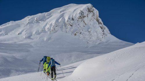 Ski de randonnée en étoile