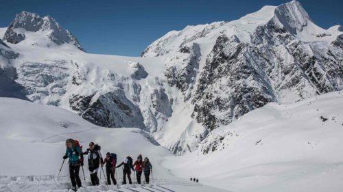 Haute-route - ski de randonnée