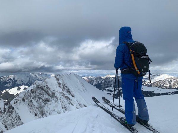 Découverte du Chablais en ski de randonnée