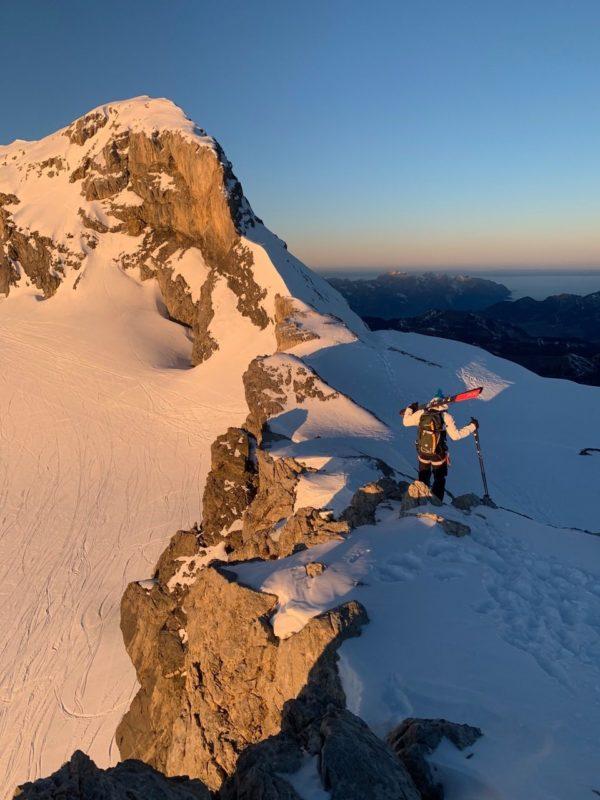 A la découverte du Chablais en ski de randonnée